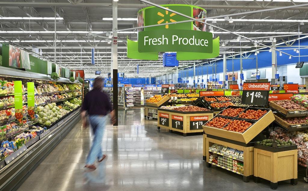 Wal Mart Store # 4444, Location: Jacksonville, FL, Architect: N/A, Designer: Lippincott