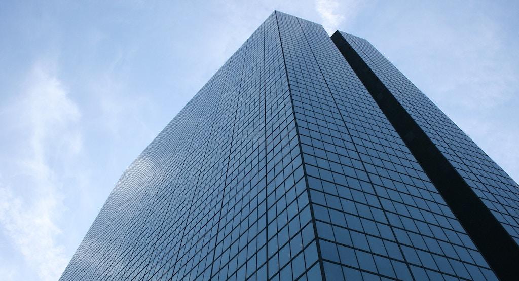 The John Hancock Tower, Boston.; Shutterstock ID 3136109; PO: redownload; Job: redownload; Client: redownload; Other: redownload