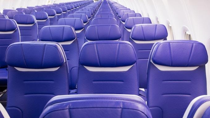 西南航空座椅