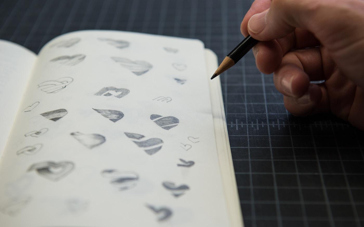 标识设计过程