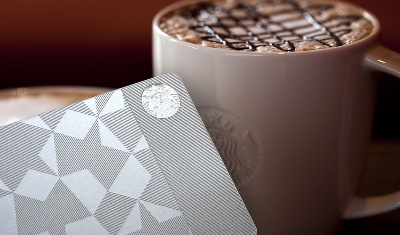 Starbucks coffee and gift card