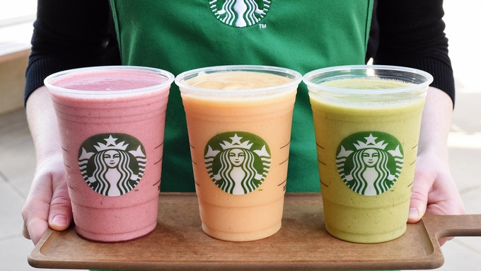 Starbucks non-coffee drinks