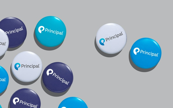 Principal Branded Buttons