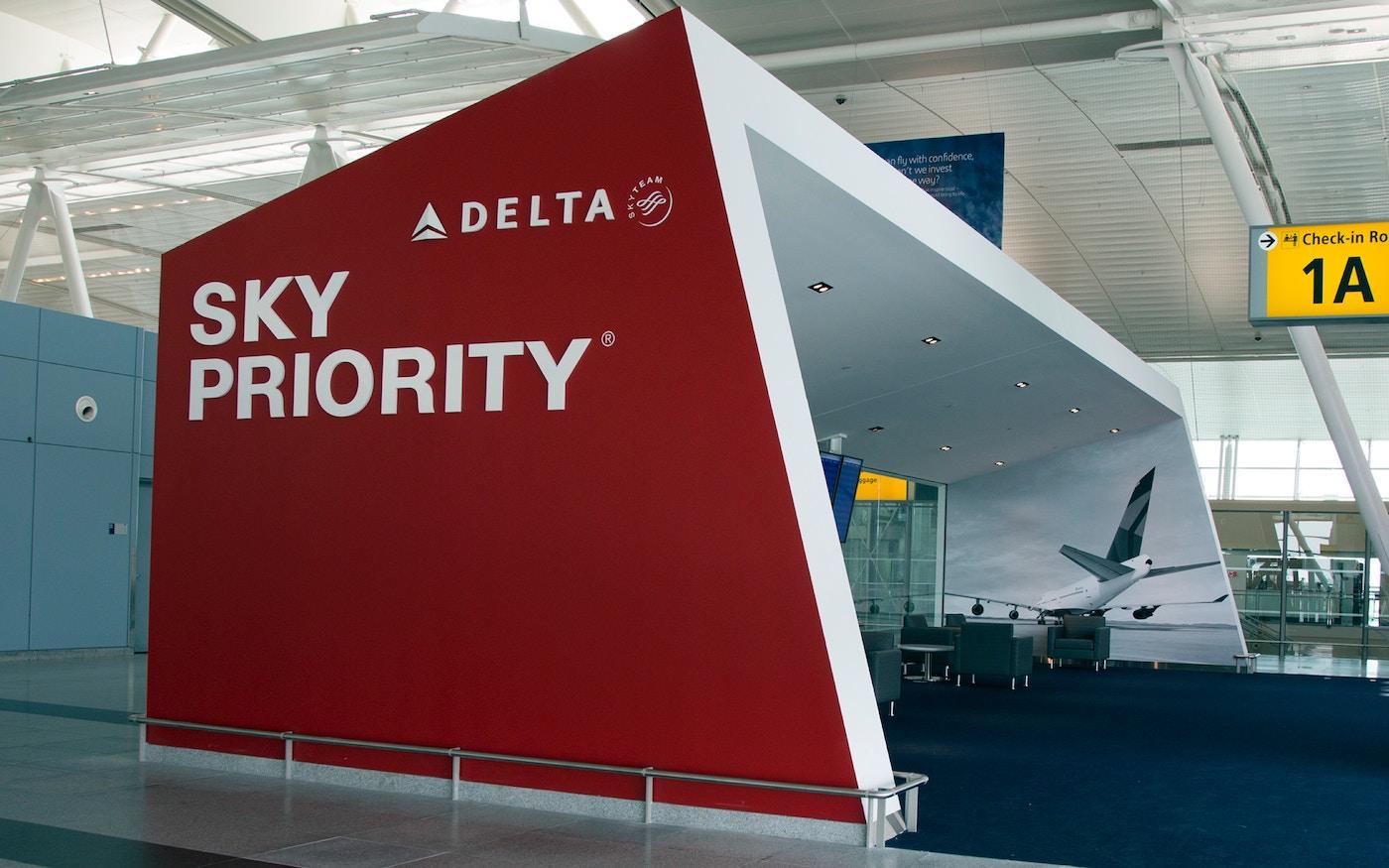 Delta Sky Priority Lounge