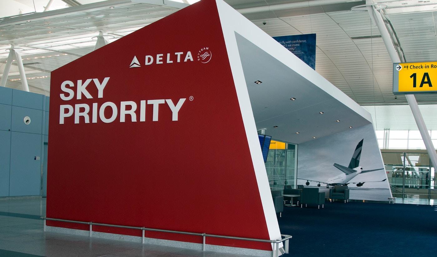 sky Priority Lounge