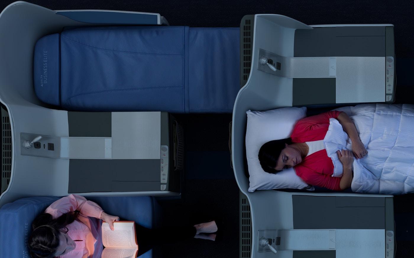 Delta first class seats