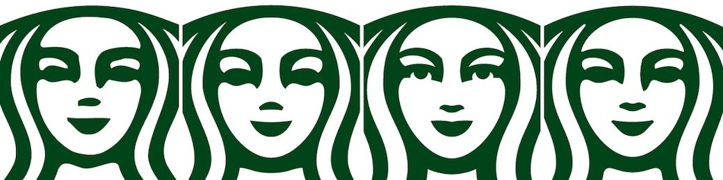 Starbucks Siren Face