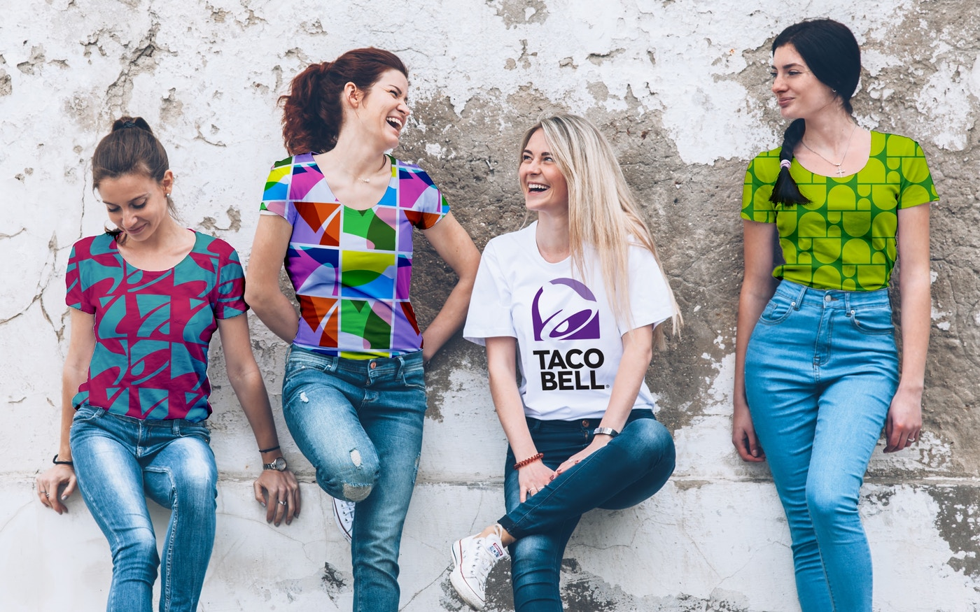 Taco Bell branded swag