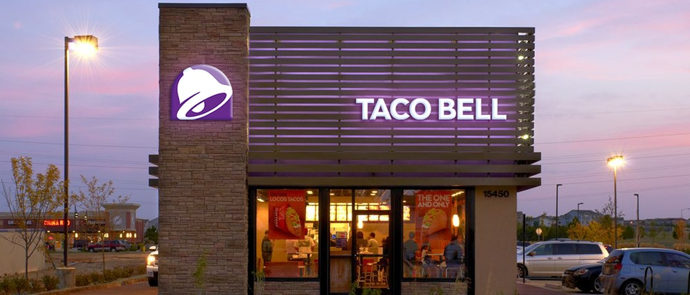 Taco Bell storefront