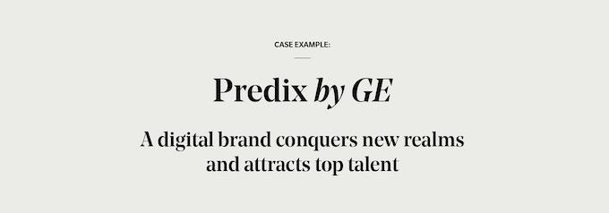 Predix by GE