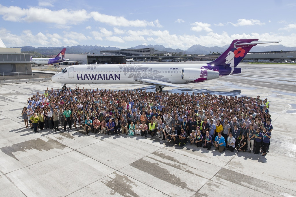 Hawaiian Airlines May Day CelebrationMay 1, 2017Honolulu, HIMarco Garcia/Getty Images for LIppincott