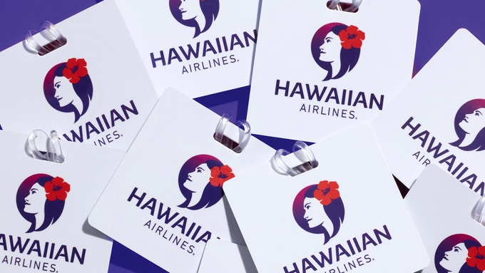 Hawaiian Airlines luggage tags