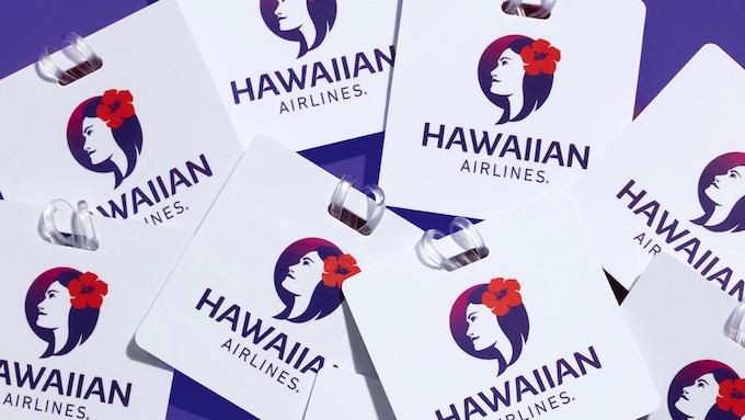 Hawaiian Airlines luggage tags