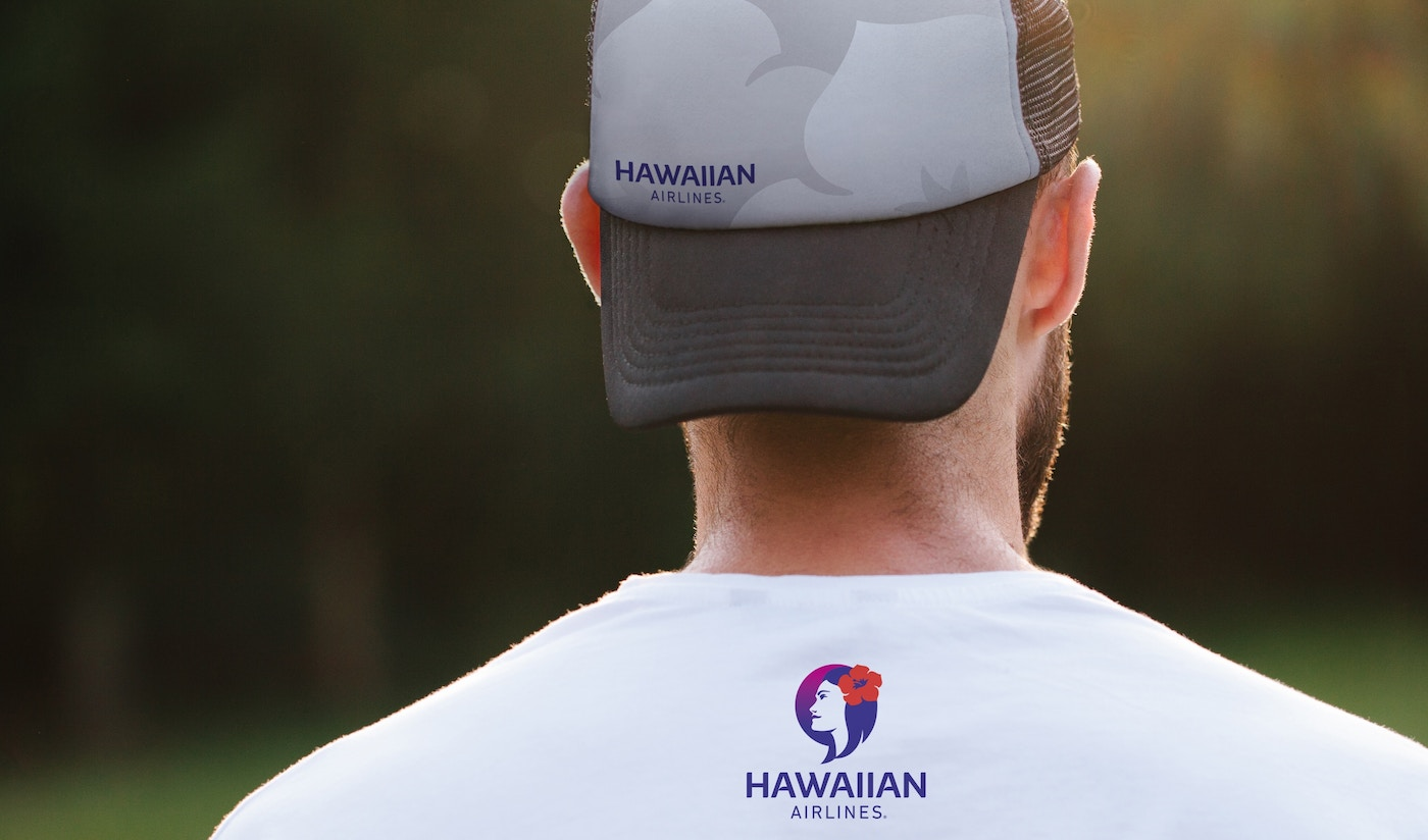 Hawaiian Airlines branded clothing