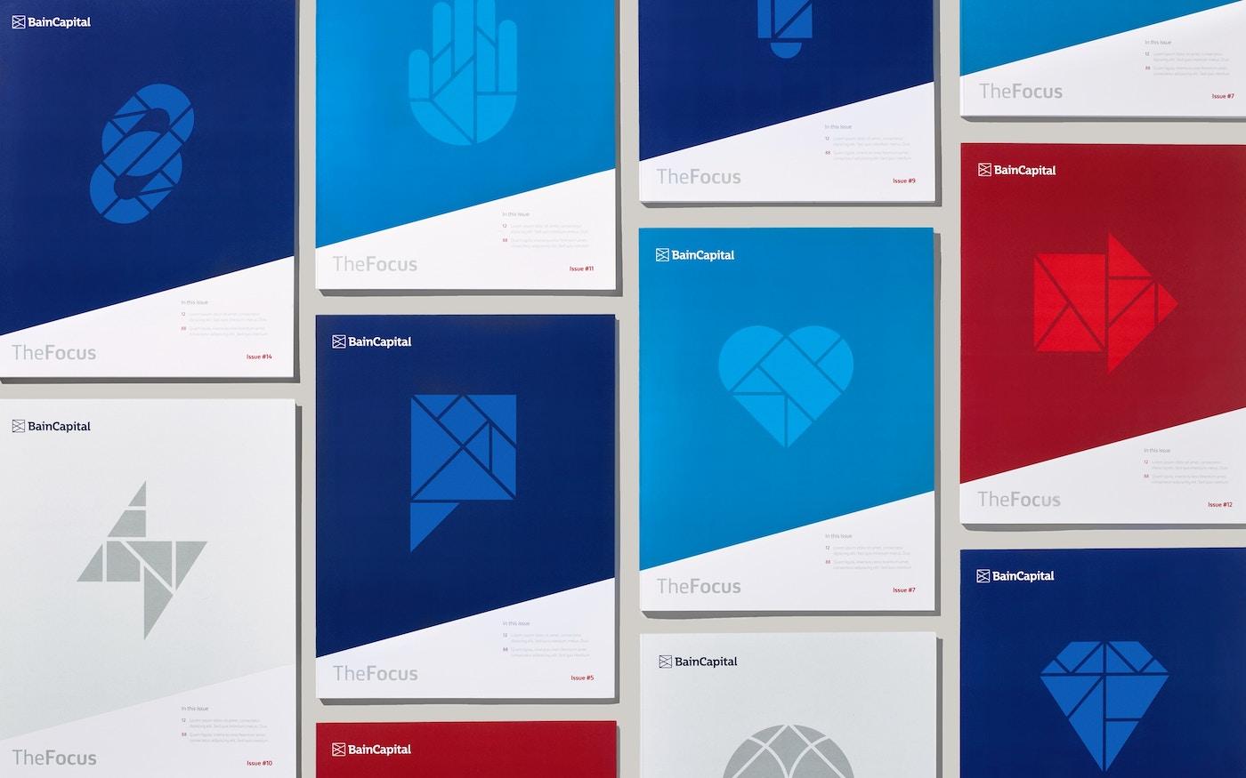 Bain Capital printed materials