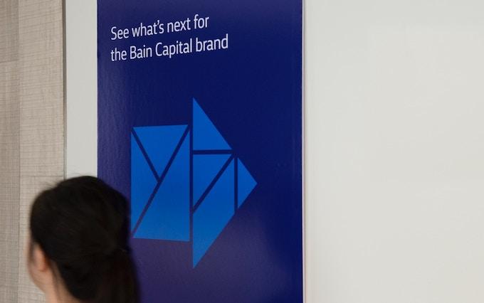 Bain Capital branded banner