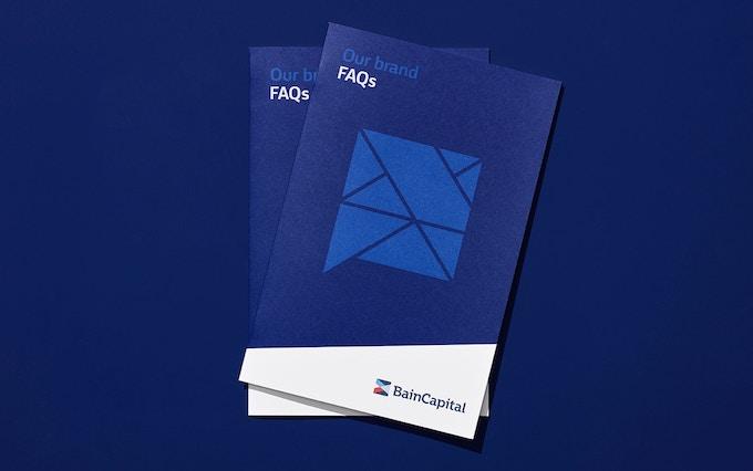 Bain Capital print materials