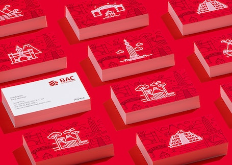 BAC Business cards