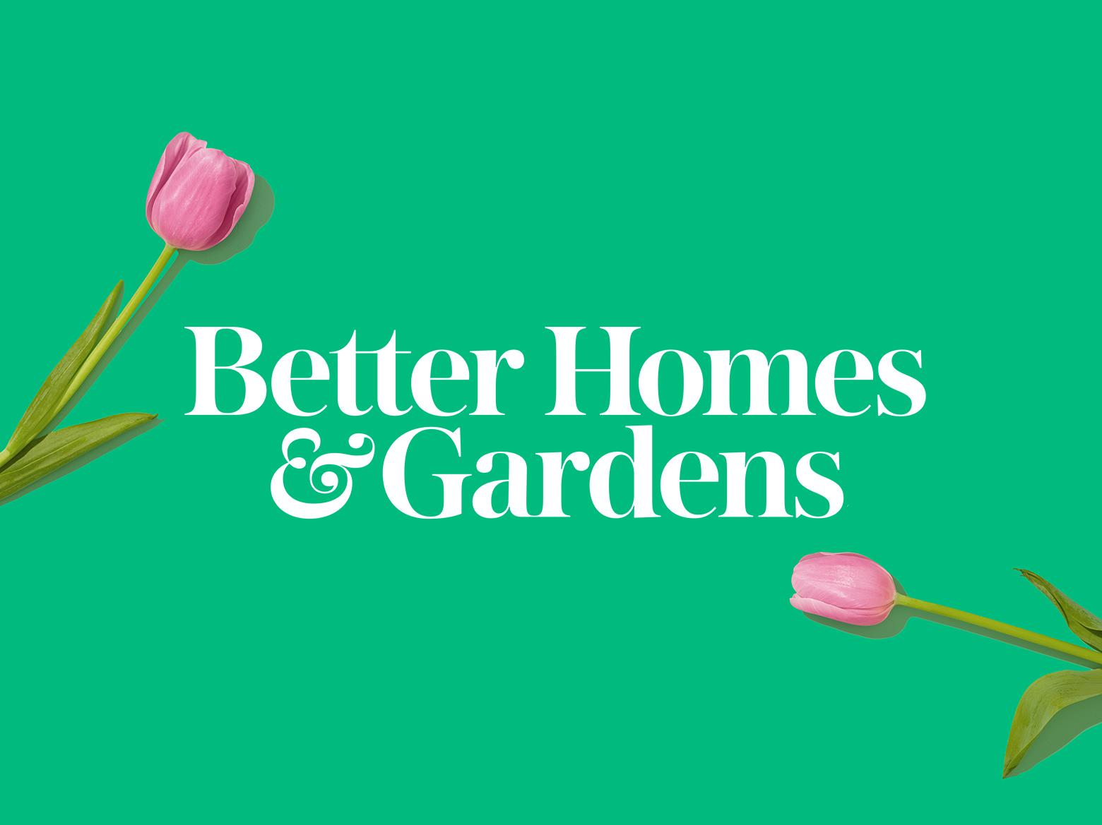 Better Homes U0026 Gardens Logo Better Homes U0026 Gardens Logo