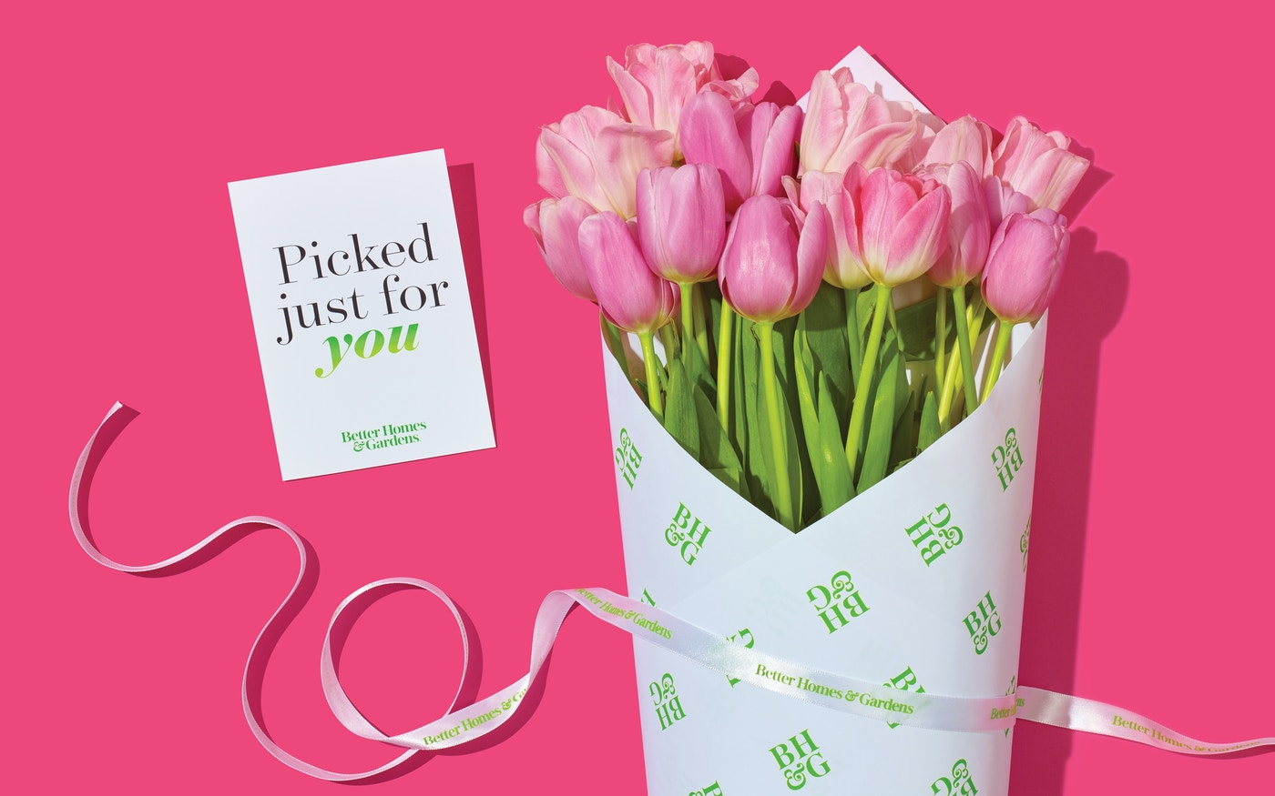 Better Homes & Gardens flower card