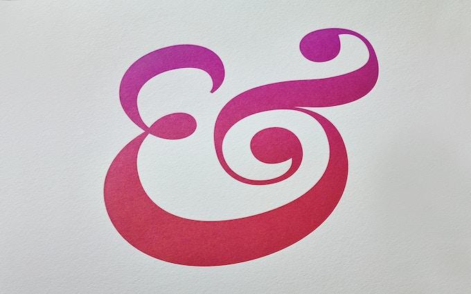 Better Homes & Gardens Logo Ampersand