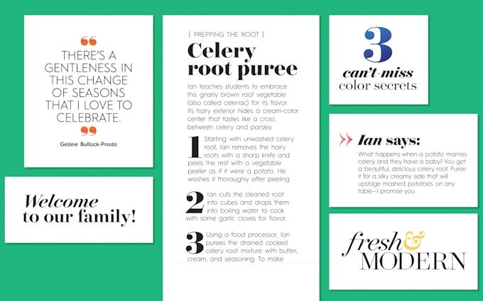 Better Homes & Gardens Recipe Card