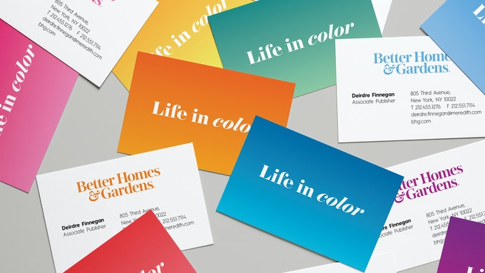 Better Homes & Gardens Branded Business Cards