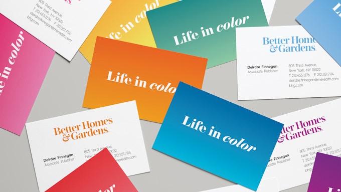 Better Homes & Gardens Branded Business Cards