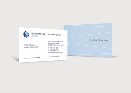 Affin Hwang business card