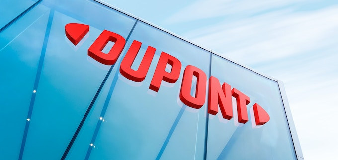 DuPont sign