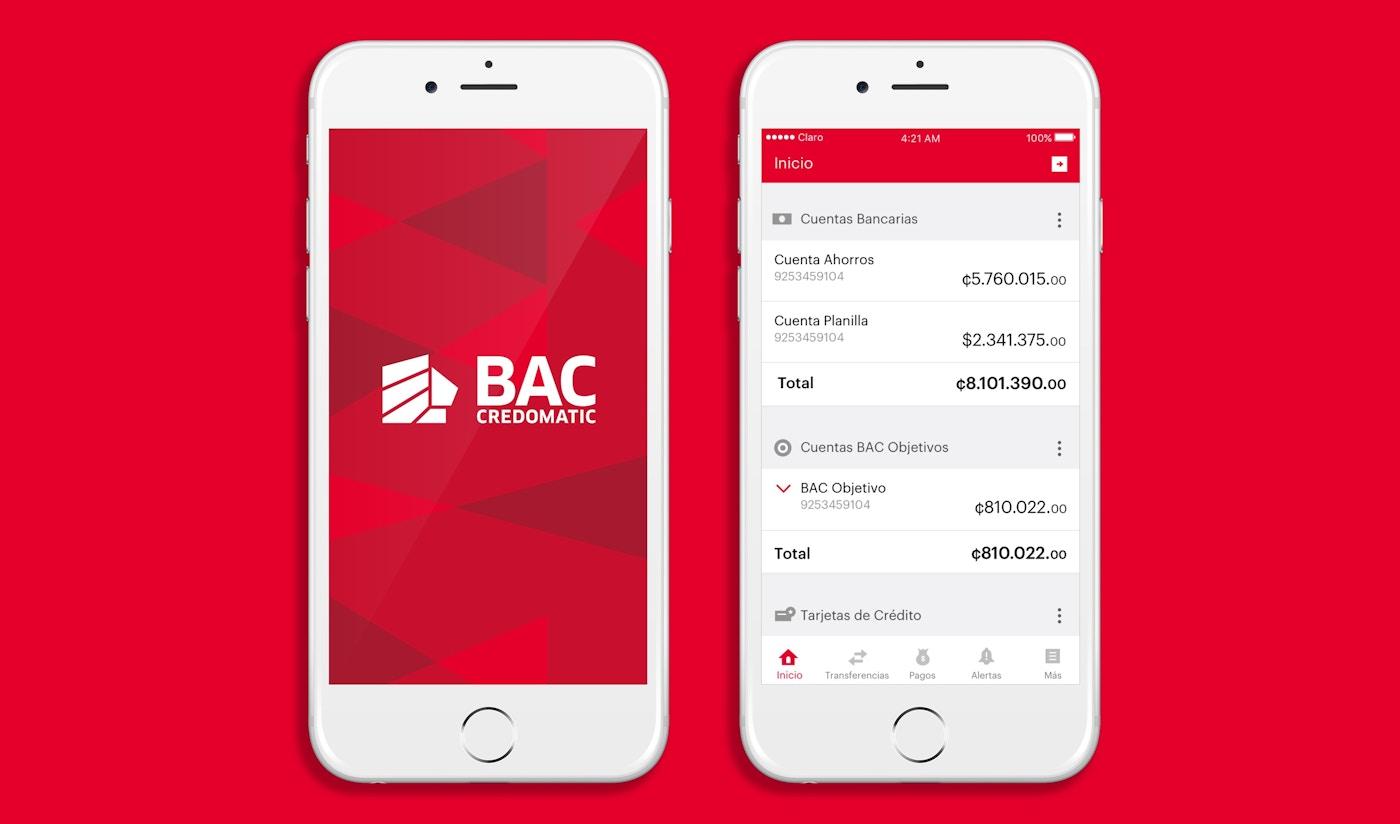 BAC Credomatic app