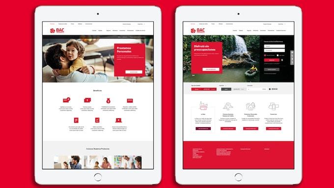 BAC Credomatic iPad app