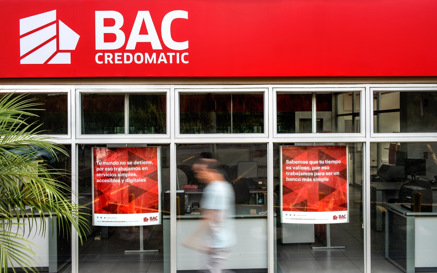 BAC Credomatic storefront