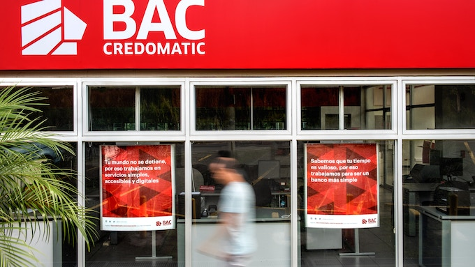 BAC Credomatic storefront
