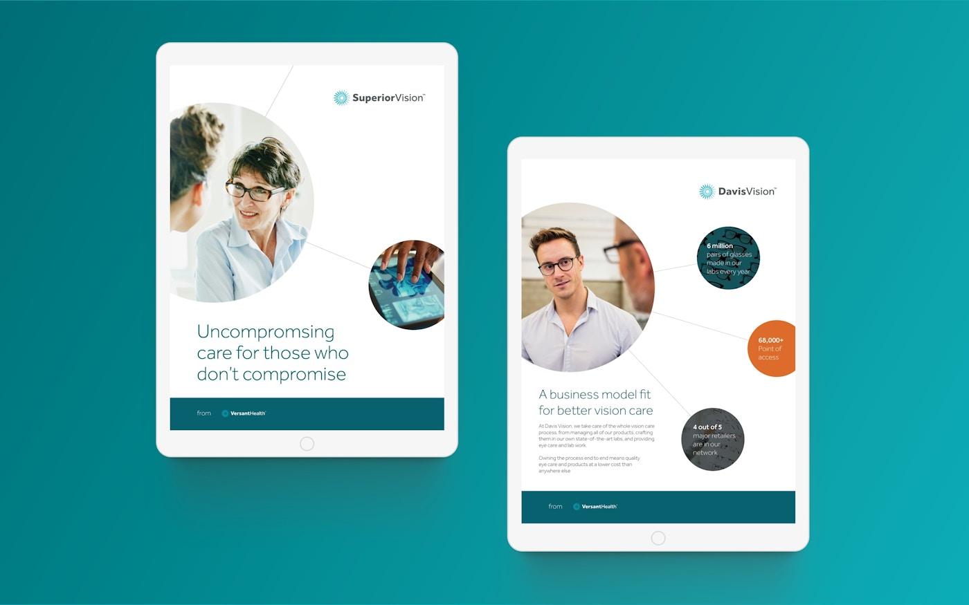 Versant Health iPad