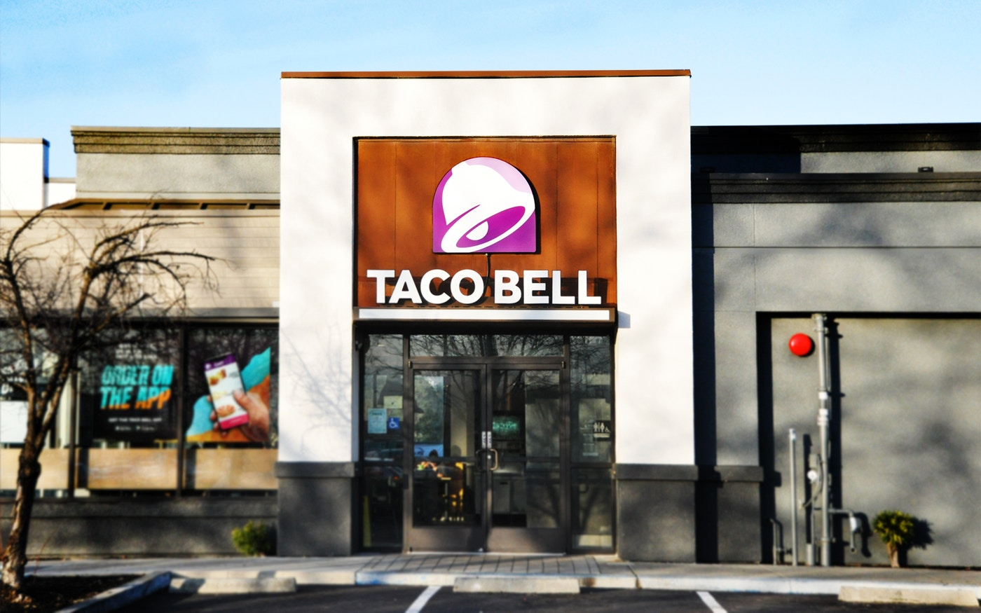 Taco Bell new storefront
