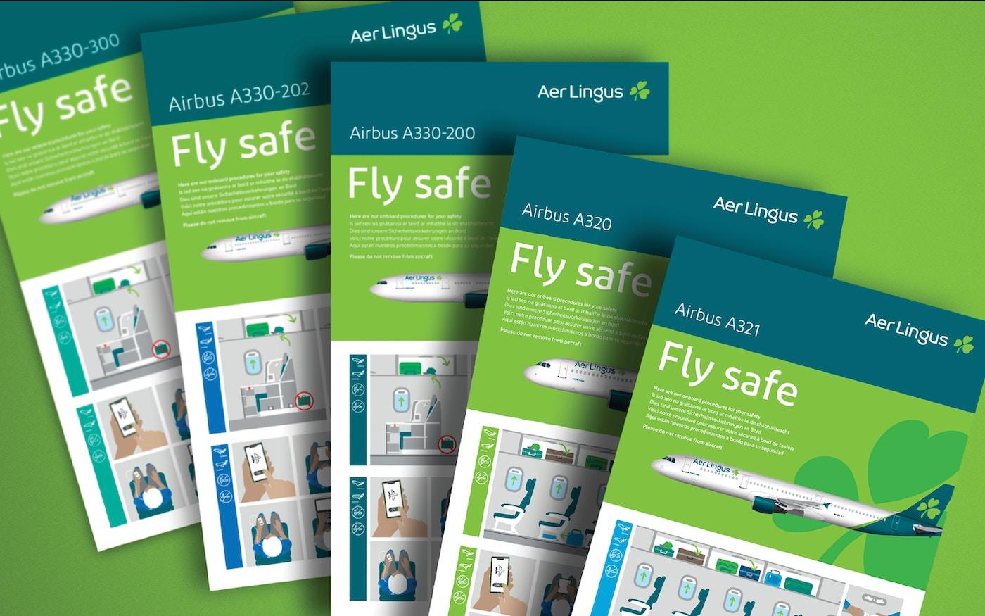 Aer Lingus branding