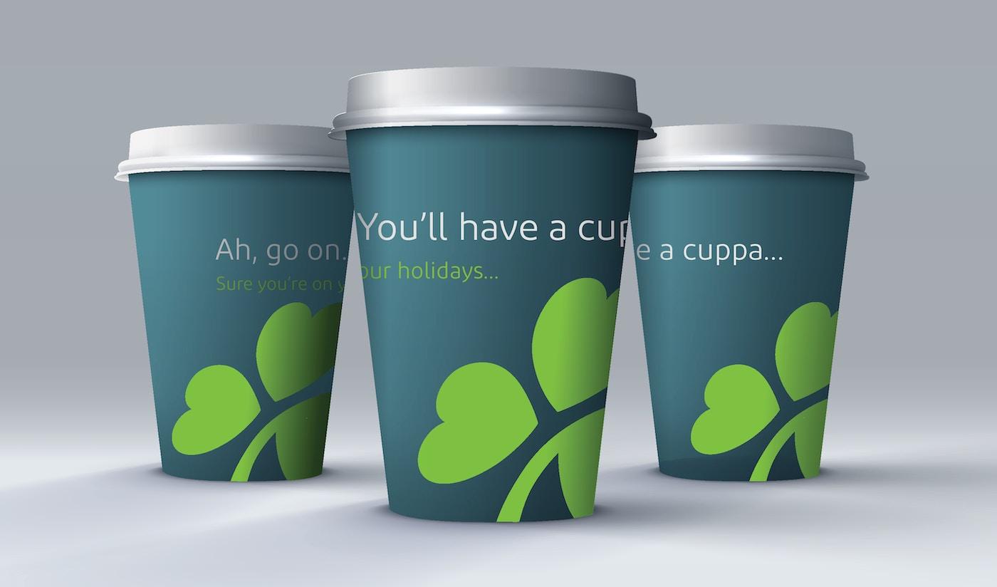 Aer Lingus cups