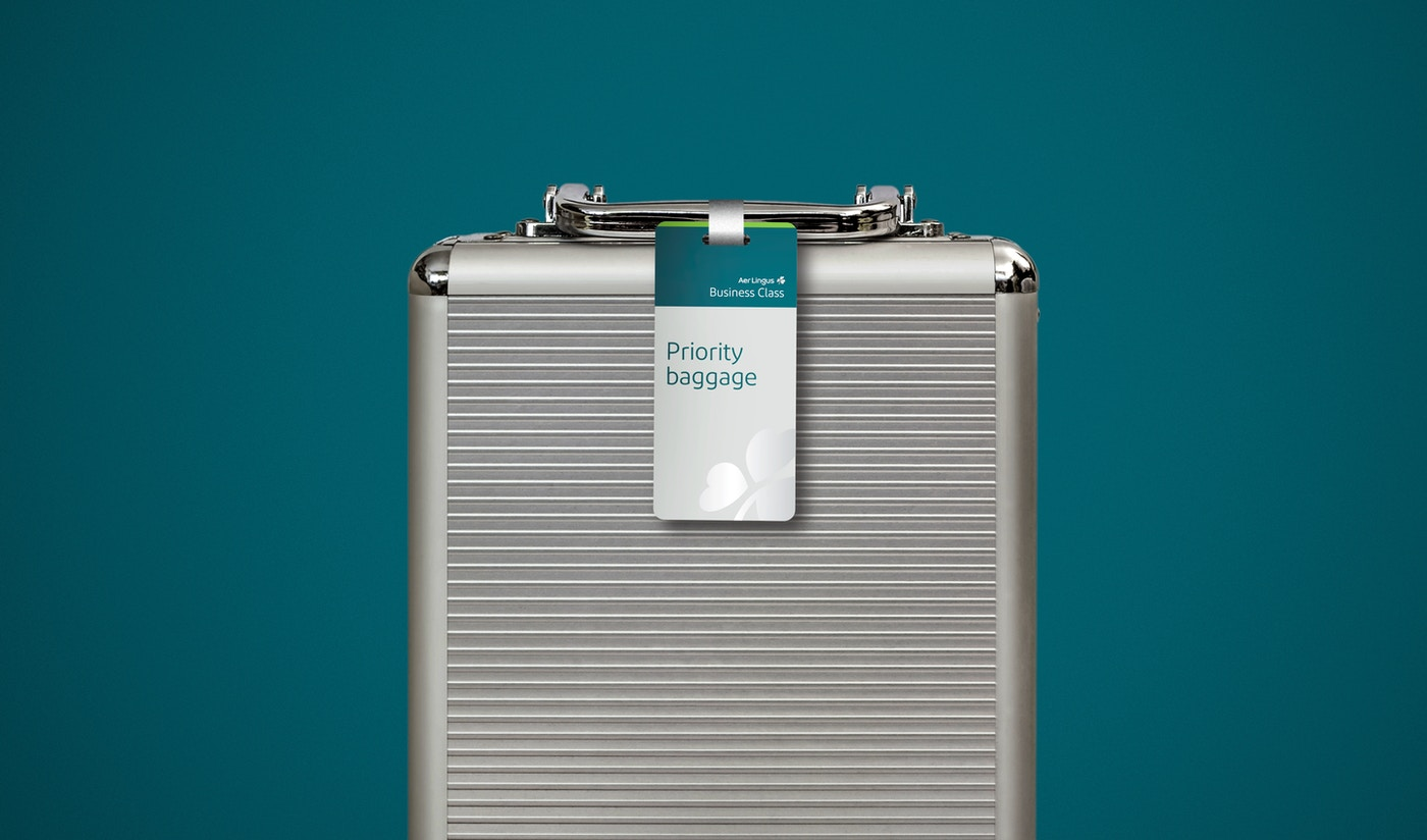 Aer Lingus luggage tag