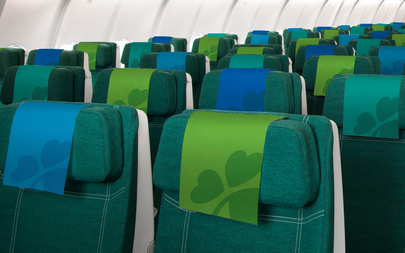 Aer Lingus flight interior