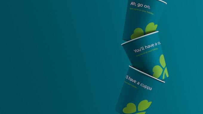 Aer Lingus Cups Branding