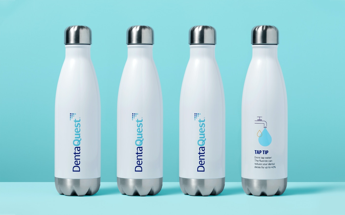 DentaQuest water bottles