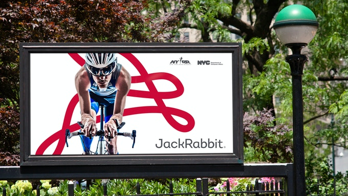 JackRabbit branded advertisements