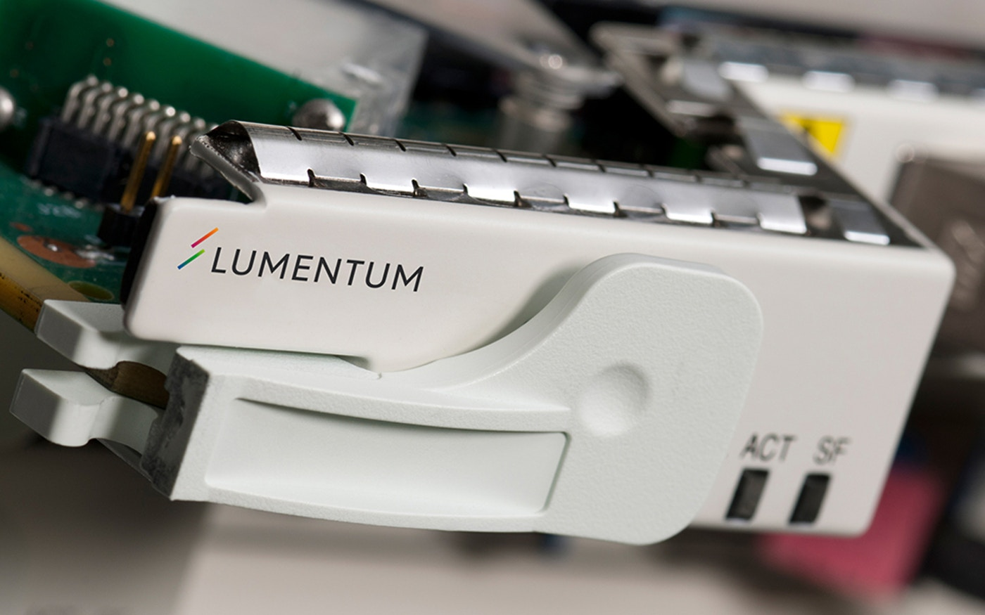 Lumentum branded equipment