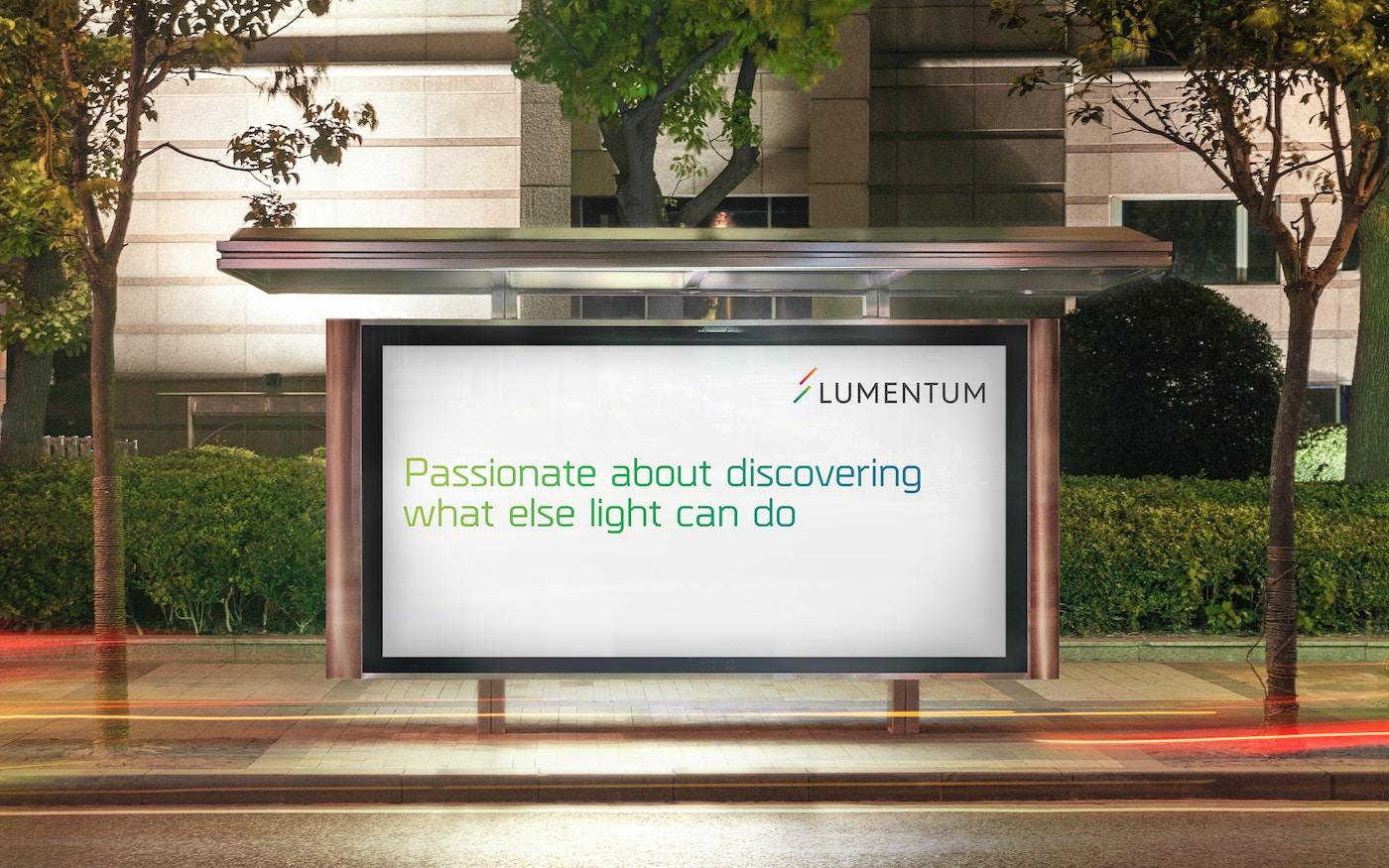 Lumentum advertisement