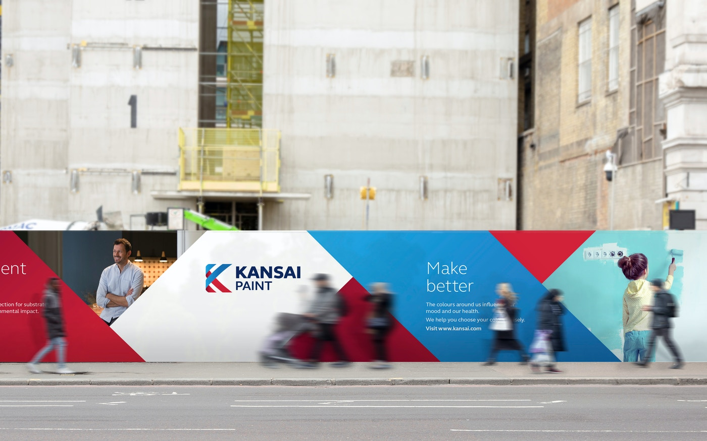 Kansai Paint OOH advertisements