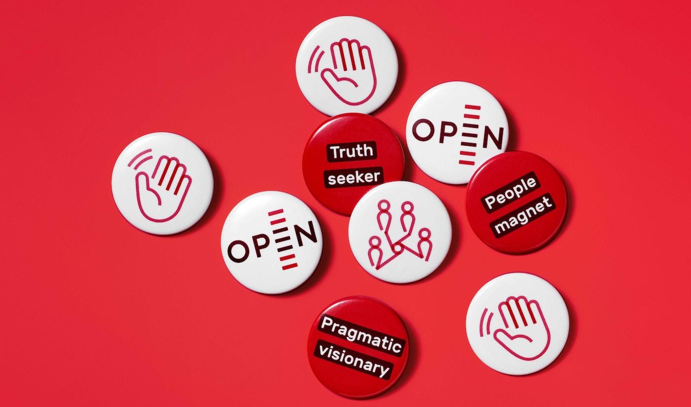OPEN pins