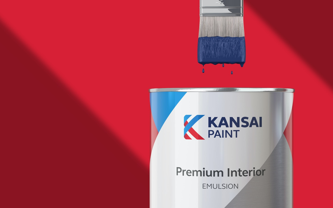 Kansai Paint branded can