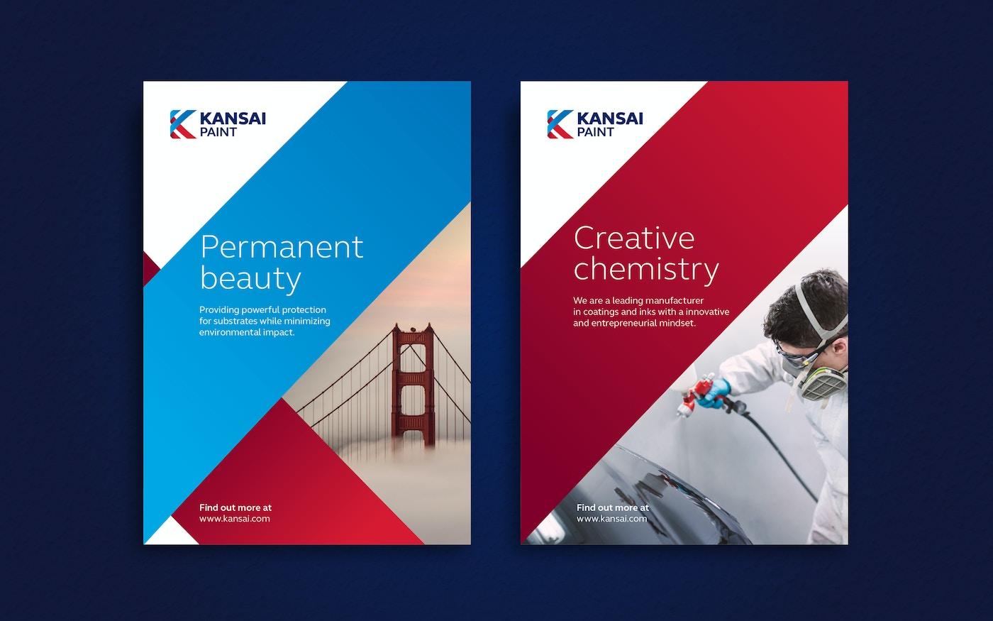 Kansai Paint new visual identity