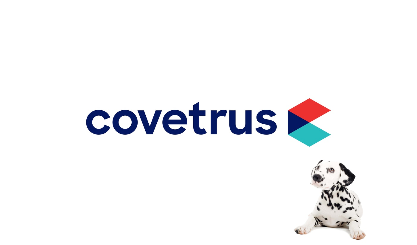 New Covetrus logo, designed by Lippincott